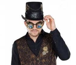 Brille Steampunk Hologramm