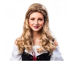 Perücke Burg Dame blond