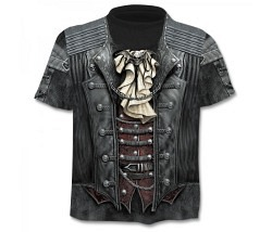 T-Shirt Motiv Gr. L