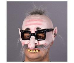 Maske hässlicher Kauz