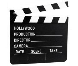 Film Klappe Hollywood